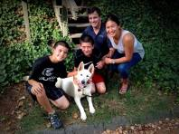 Tundra reunited with his family after his Kabler Residency.